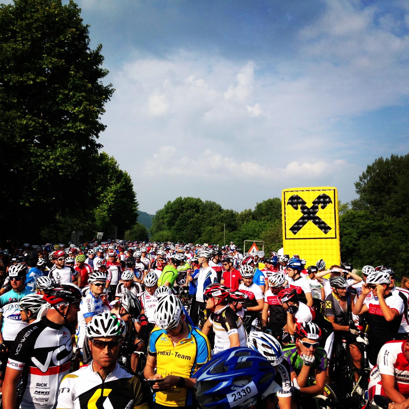 Start Wachauer Radmarathon
